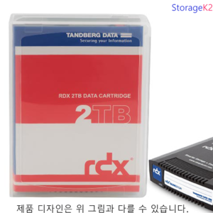 2TB 8731-RDX Tandberg HDD media for RDX